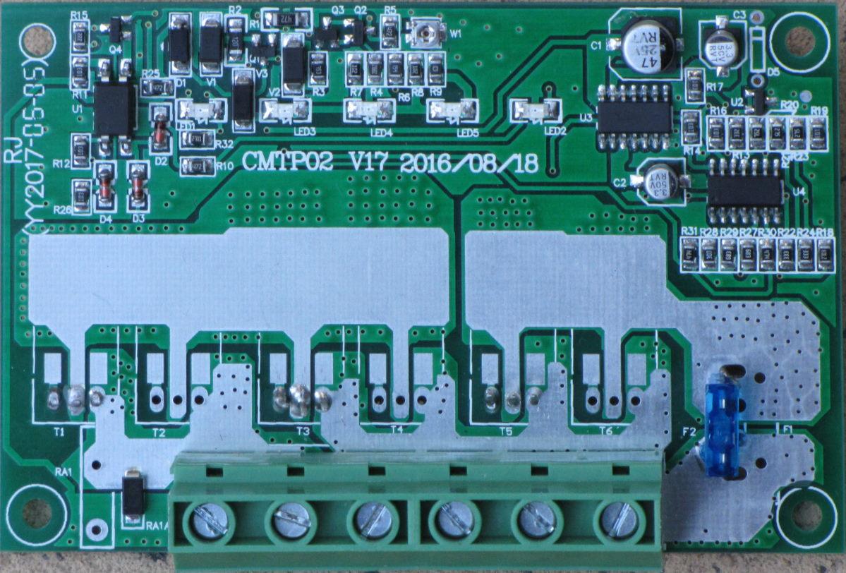 CMTP02 solar controller circuit
