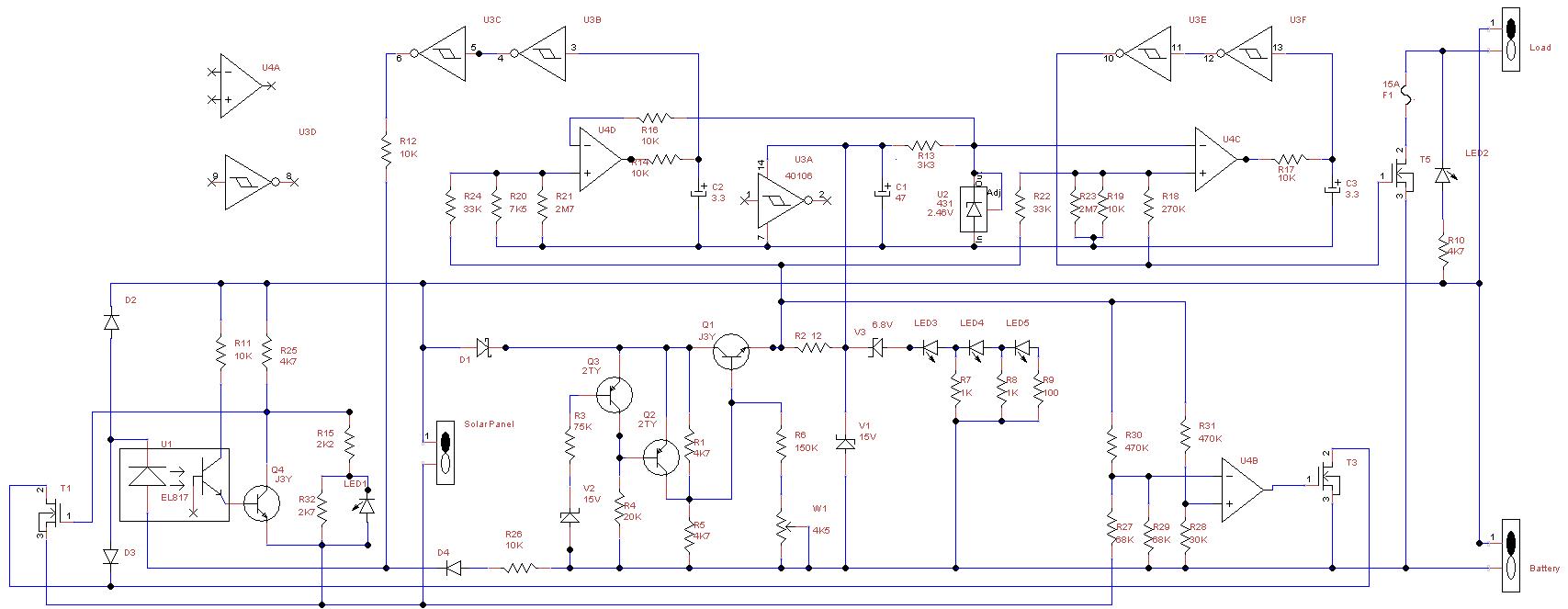 Cmtp02 Solar Controller Circuit Led Optocoupler